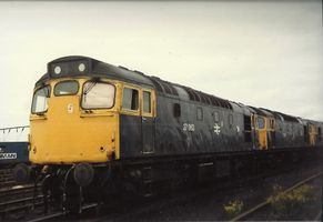 27063 + 27026 at Basford Hall enroute to Vic Berry - Mark Jones