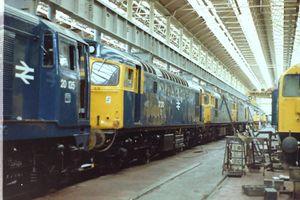 27210 @ Glasgow Works 1980 - Colin Moss
