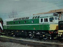 D5401 @ Loughborough GCR apr96 - Peter Sharp