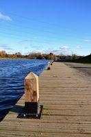 Water park bollards