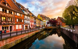 Sunset In Colmar