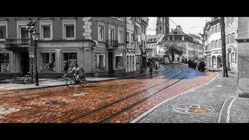 Colored Cobblestones