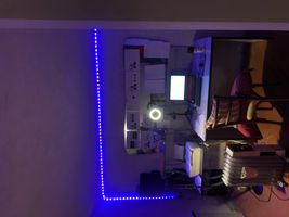 Led Lights in the studio