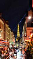 Eiffel Tower from a far