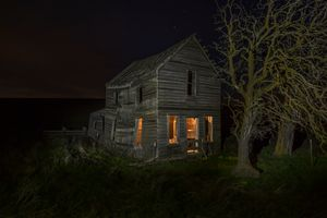 Eerie Look-- Old Homestead - McDermand Rd