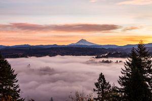 Sunrise and Fog #2