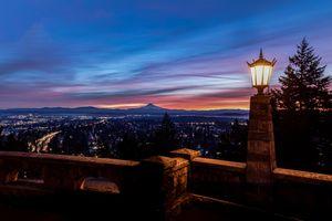 Inauguration Day Sunrise- Portland Oregon