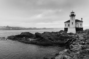 Coquille River Lighthouse -  Bandon Oregon