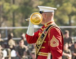 Marine Corps Drum major