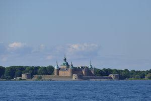 Kalmar Castle viewed from Kalmar Strait