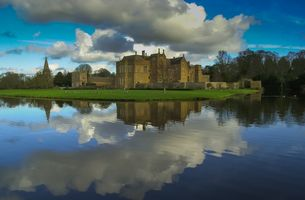 Reflections in the Moat, Broughton Castle, Banbury, Oxfordshire
