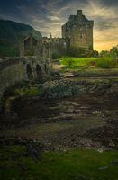 Eilean Donan Castle Sunset, Kyle of Lochalsh, Highlands, Scotland