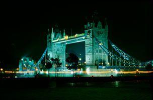 Tower Bridge at Night, London
