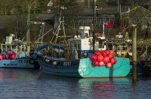 Fishing Boats, The Quay, Lymington, Hampshire