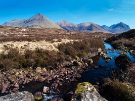 Red Cuillin Mountains, Isle of Skye, Scotland