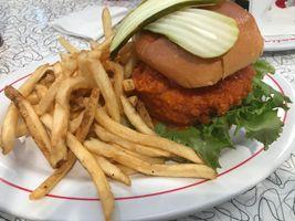 Sun liner Buffalo chicken sandwich