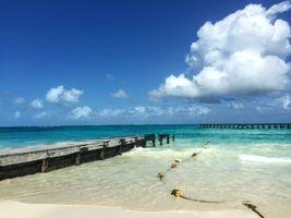 Playa en Cancún, México / Beach in Cancun, Mexico