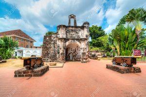 A Famosa Fortress _ Melaka _ Sunny Day