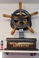 New Brighton Lifeboat wheel