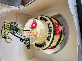My 30th bday cake