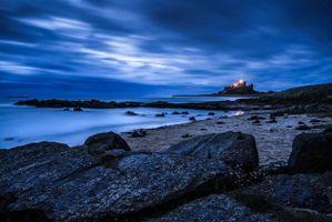 Bamburgh Beach Dawn
