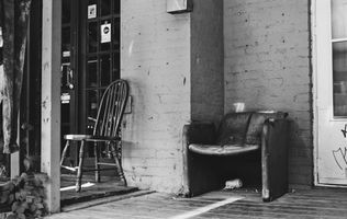 Kensington Market, Black and White Photography