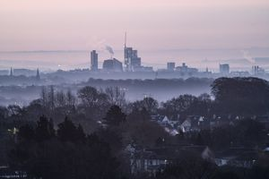 Early morning cityscape
