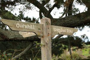 Hobbit Signpost