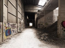 Abandoned warehouse - Lost Place in Germany