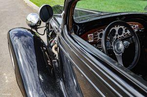 Black 1933 Chevrolet Sedan - Street Rod
