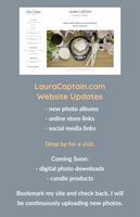 LauraCaptain.com Graphic Using Adobe Spark