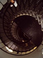 Lighthouse stairs going down (1 of 1)