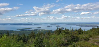 Looking off of Cadillac Mountain