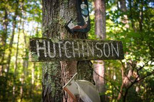 The Hutchinson Family sign