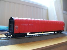 Lima OO gauge, Railfreight metals, modern image goods wagon