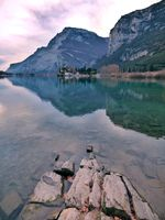 A romantic lake
