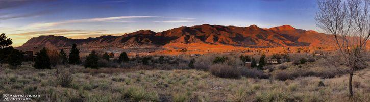Front Range Dawn Panorama No 1