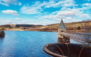 Pontsticill Reservoir, Brecon, Uk