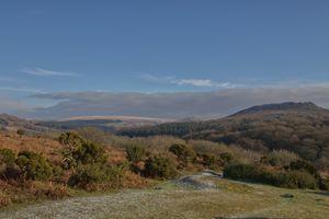 Winter arriving on Dartmoor and Sheepstor