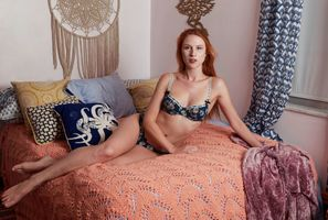 Astrid Kallsen, Lingerie Portrait, Treasure Coast, FL, 2021-06-20