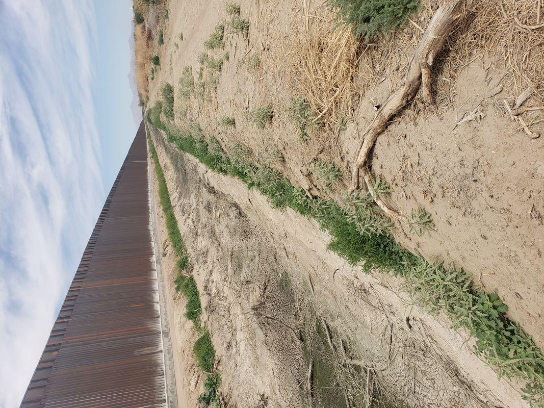 Dried up Rio Grande