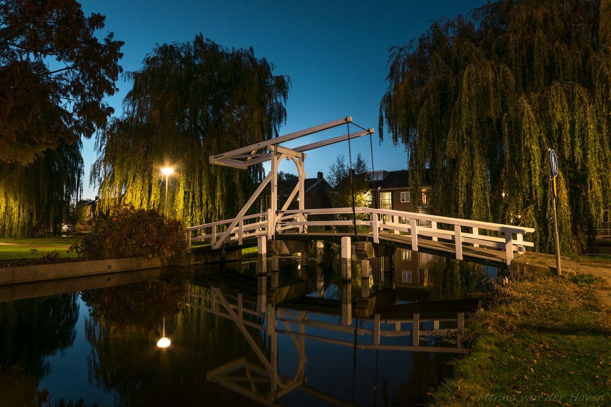 Lift Bridge at Blue Hour