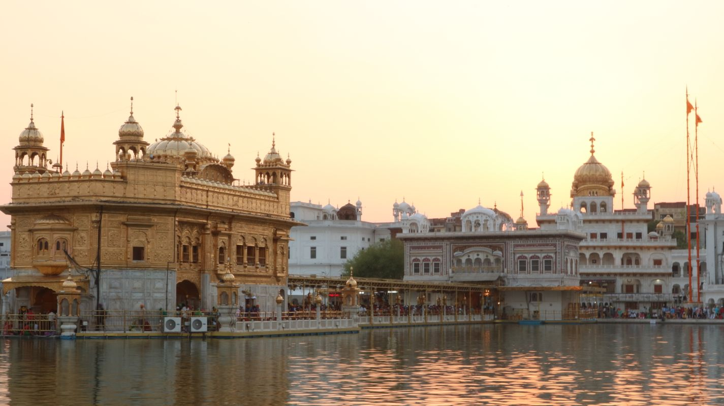 People and Places (Golden Temple)