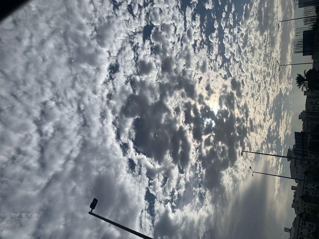 Beautifully cloudy