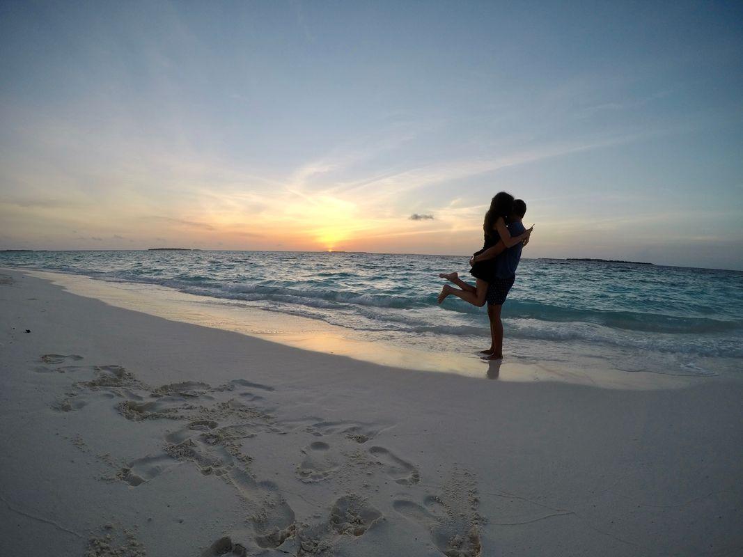 Love at sunset