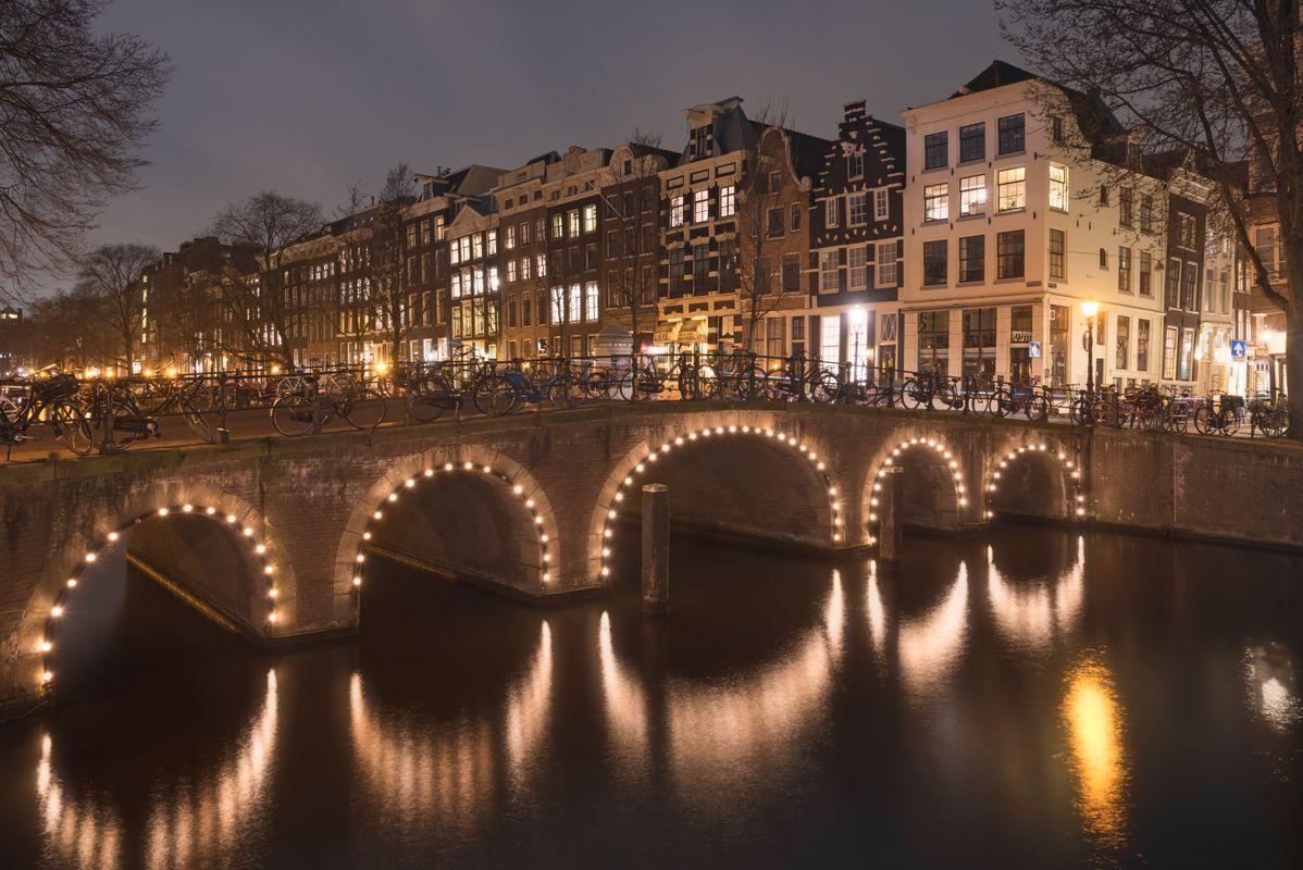 Reflections under the bridge