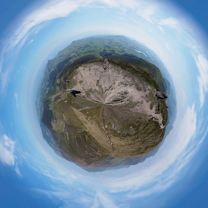 Djouce mini planet