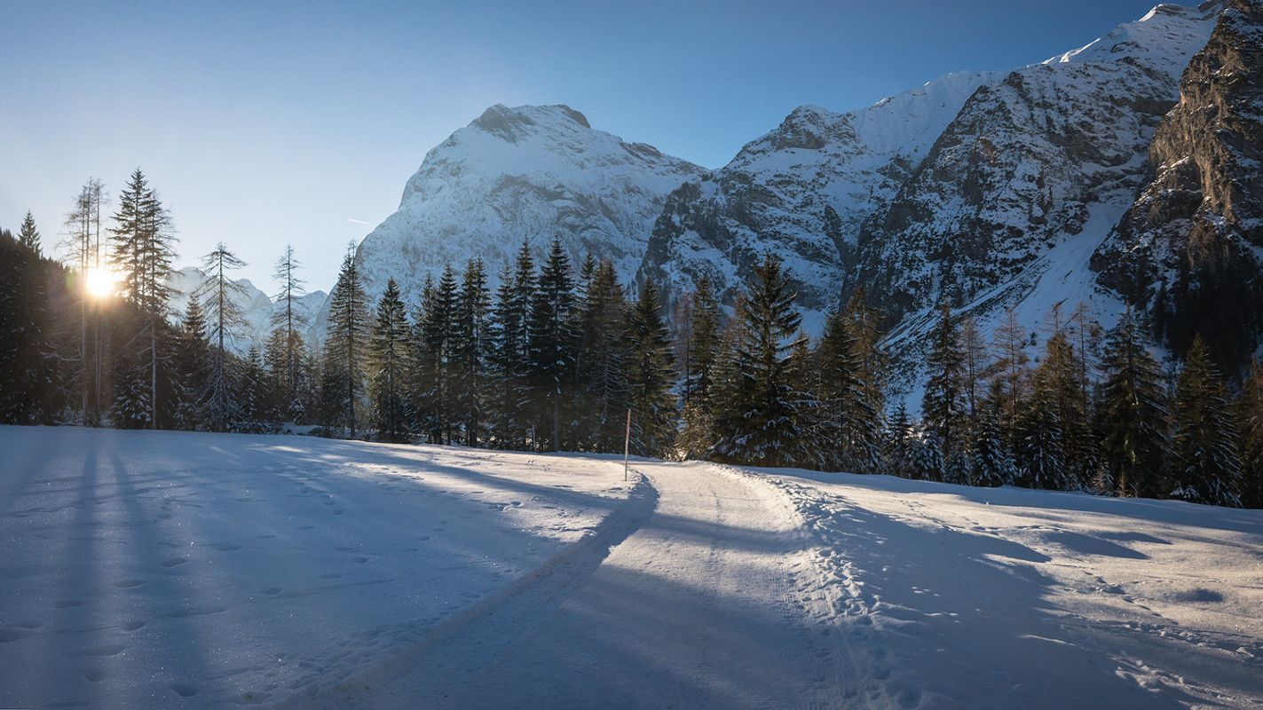 Karwendal winter