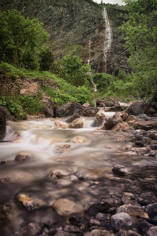 Tannheim Waterfall