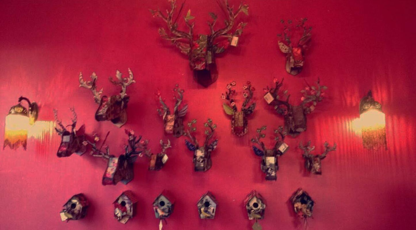 Paper Stags